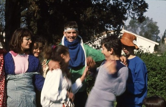 שקופית 38- 46 -גן-שמואל-קב' אנפה 1987-שמות בסכום